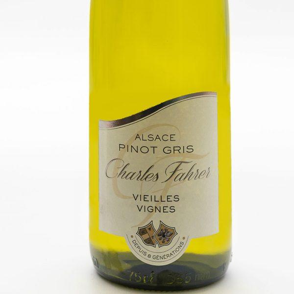 vin d'Alsace Pinot Gris Cuvées Vieilles Vignes